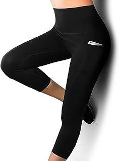 484e666fd91aa6 UNIC Damen Hohe Taille Sport Leggings,Damen Sport Leggings,Yoga Sporthose  mit