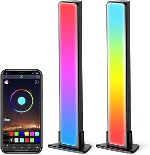 Jizbuger Smart LED Light Bars, RGB Light Bars with 20...