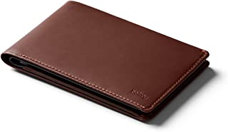 Bellroy Leather Travel Wallet (Passport Holder, RFID Protected, Travel Document Organizer, Travel Pen) - Cocoa