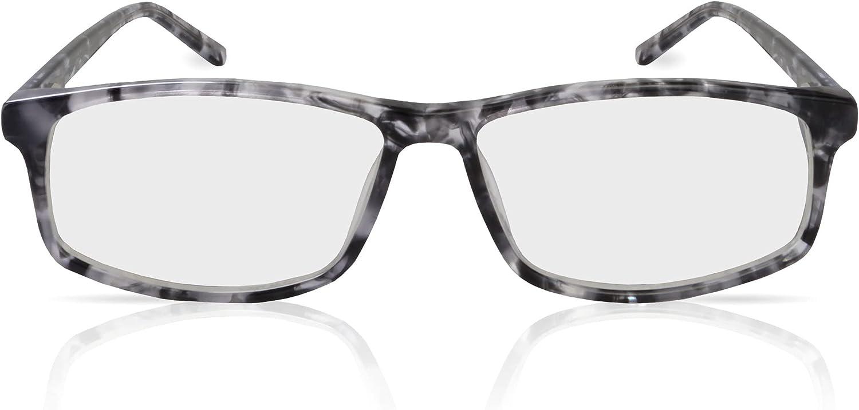 TrueDark Daylights Grey Tortoiseshell Vista Blue Light Blocking Glasses - Protect Your Eyes from Harmful Junk Light