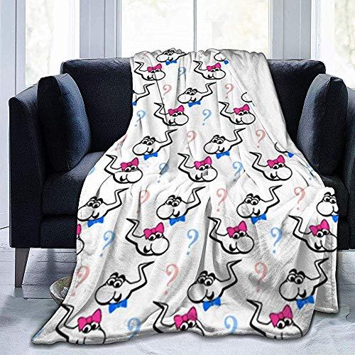 Biubiu-Shop meisje of jongen sperma sherpa fleece deken gooien voor Thuis kantoor reisbank bank warm gezellig