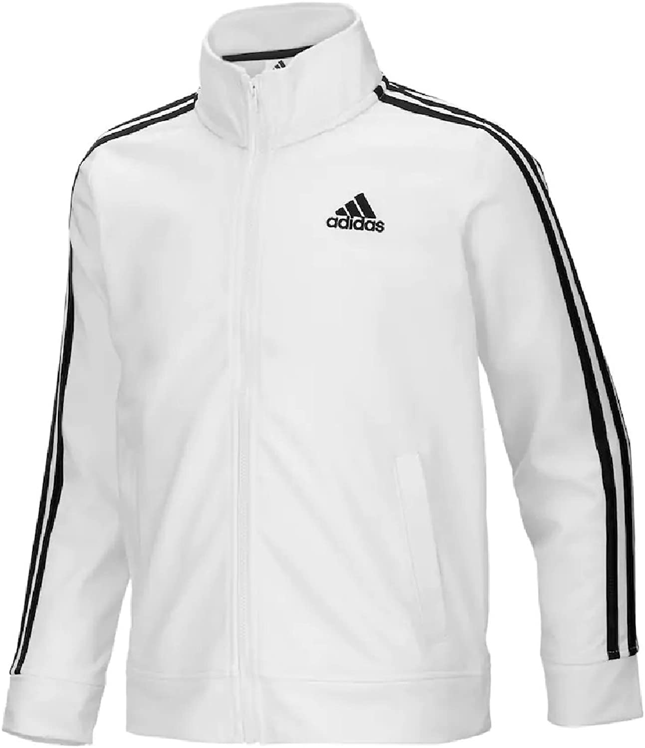 f7999c6e68bfe Adidas Girls Warm Tricot Track Jacket 7-16 up nxqvga5896-Sporting ...