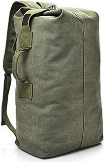 Mochila de lona de moda para hombre, bolsa de hombro, bolsa de viaje, bolsa de mano para equipaje