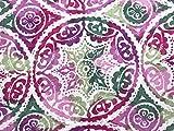 Stoffeldorado - Meterware Dekostoff, Mandala lila rosa