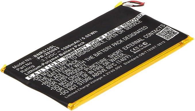 42 opiniones para subtel Batería Recargable Compatible con Kobo GLO HD, Barnes & Noble BNRV510