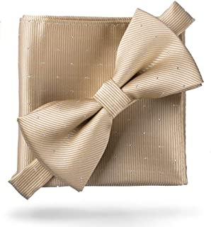 Best self tie bow tie and pocket square set Reviews