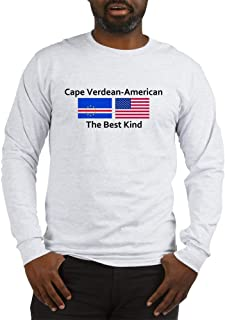 CafePress Cape Verdean American The BES Long Long Sleeve T