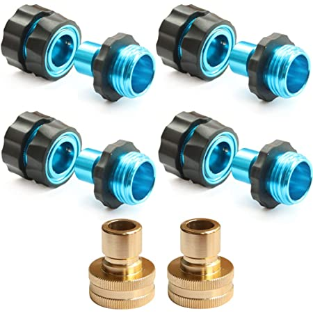 Male Hose Pipe Fitting Set Quick Garden Water Connector Adaptors Details about  /3//4 Female