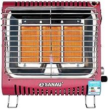 Little Sun Calentador de Gas Montado en la Pared, Estufa de Asar de la Casa, Gas Natural Licuado, Mini-Estufa Portátil de Calentamiento Rápido