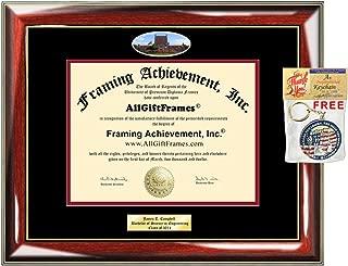 university of tulsa diploma frame