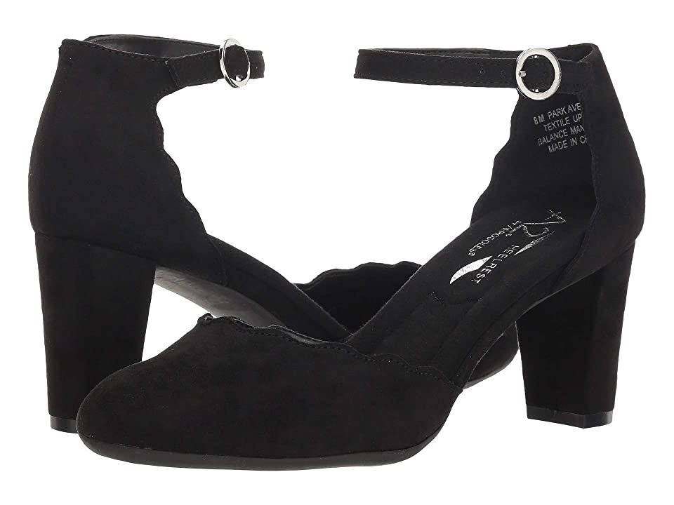A2 by Aerosoles Park Ave (Black Fabric) High Heels