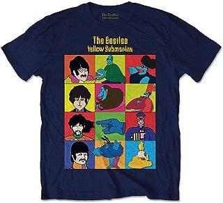 BEATLES ビートルズ (Abbey Road 50周年記念) - Yellow Submarine Characters/Tシャツ/メンズ 【公式/オフィシャル】...