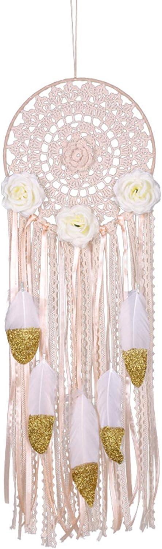 不适用 Special sale item Handmade Flower Tassel Dream Hang Cheap Feather Catcher Wall