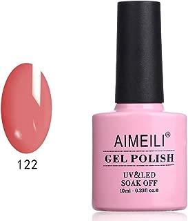 AIMEILI Soak Off UV LED Gel Nail Polish - Chaenomeles Speciosa Nakai (122) 10ml