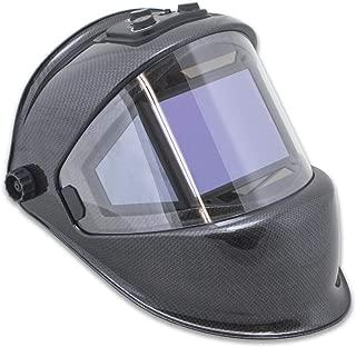 TGR Panoramic 180 View Solar Powered Auto Darkening Welding Helmet - True Color (CARBON FIBER)