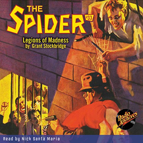 Spider #33, June 1936 cover art