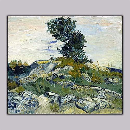 Geiqianjiumai Painter olieverf tekenen abstracte stijl canvas schilderij muurschildering kunst foto woonkamer huisdecoratie geschenk frameloze schilderij