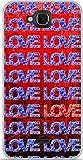 ONOZO Blue Soft TPU Case Gel Wiko Slide Design Loves & Love