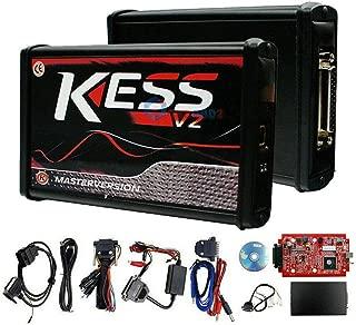MASO Car Kess V2.47 V5.017 Ecu Tuning Full Kit Eu Master Online No Token Limit (Red-Black)