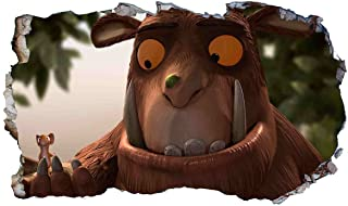 Gruffalo Child Mouse V304 3D Magic Window Wall Sticker Self Adhesive Poster Wall Art Size 1000mm Wide x 600mm deep (Large)