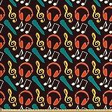 ABAKUHAUS Musik Gewebe als Meterware, Hinweise und