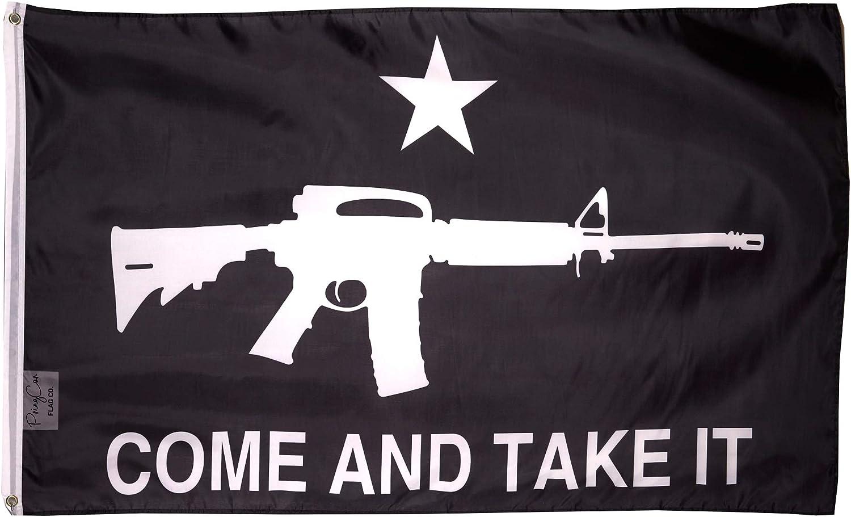 PringCor Liberty Or Popular popular Death Come Take 3x Black Rifle White Seattle Mall Flag It
