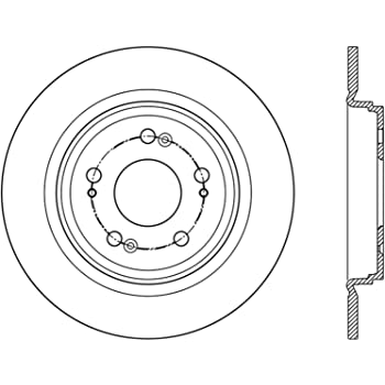 Centric 121.34135 Brake Rotor
