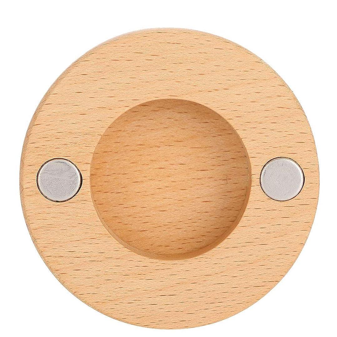 請求可能毛皮ヘアドライヤーノズルブラケット、ネジと接着剤が付いているブナの木の壁の台紙のホールダーは用具を浴室をきれいに保ちます、ドライヤーのダイソンのための付属品の付属品