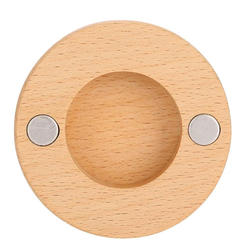 敬意を表してコンテスト不足ヘアドライヤーノズルブラケット、ネジと接着剤が付いているブナの木の壁の台紙のホールダーは用具を浴室をきれいに保ちます、ドライヤーのダイソンのための付属品の付属品