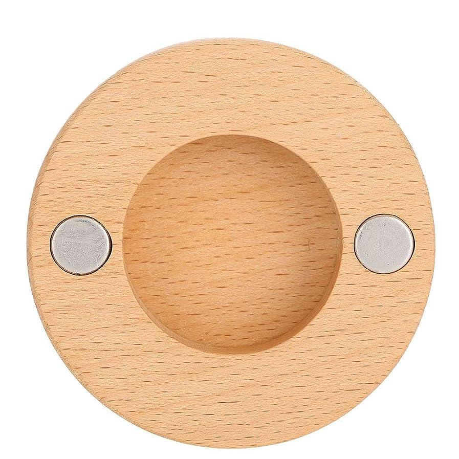 賞賛するネクタイ時折ヘアドライヤーノズルブラケット、ネジと接着剤が付いているブナの木の壁の台紙のホールダーは用具を浴室をきれいに保ちます、ドライヤーのダイソンのための付属品の付属品