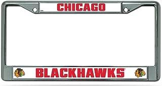 NHL Chicago Blackhawks Standard Chrome License Plate Frame