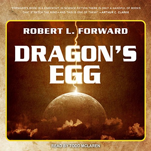 Dragon's Egg audiobook cover art
