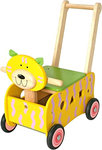 vendiendo bien en todo el mundo Carro Carro Carro de juguete para empujar con Diseño de gato  mas barato