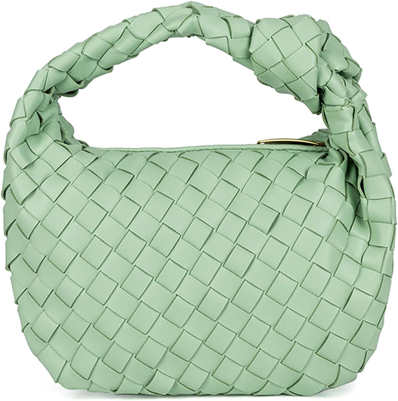 Womens Dumplings Handbags Soft woven Hand- Purses Evening Clutch Crossbody Bags Classic Shoulder Hobo Bags