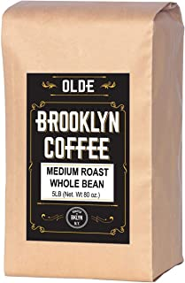 Sponsored Ad - 5 lb Coffee Beans - Whole Bean Coffee Medium Roast - Gourmet Coffee, Fresh Roasted Coffee, 5 Pound (5lb ) B...