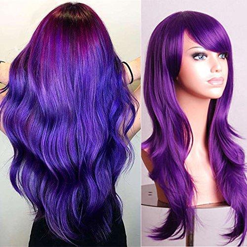 haz tu compra pelucas violetas online
