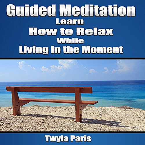 Guided Meditation: Learn How to Relax While Living in the Moment audiobook cover art