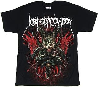 Job for a Cowboy Faces of Death Black T Shirt