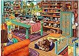 HUADADA Puzzle 1000 Piezas, Puzzles para Adultos Puzzles Animal Gato y Perro Jigsaw Puzzle 1000 Pcs (70x50cm)