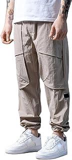 goowrom Calça cargo masculina Wild Cargo com bolso