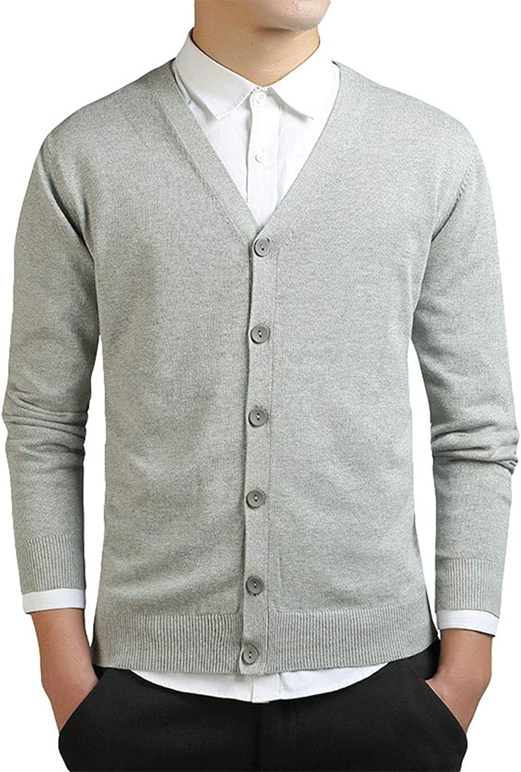 f14182591 ZooBoo ZooBoo ZooBoo V Neck Sweaters for Men - Winter Slim Fit Soft ...