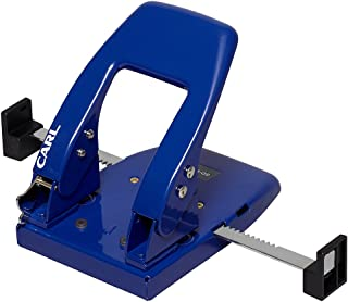 カール事務器 パンチ 2穴 50枚 ブルー SD-W50-B