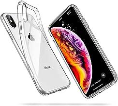 """ESR Funda para iPhone XS MAX, Funda para Suave TPU Gel Ultra Fina Protección a Bordes y Cámara Compatible con Carga Inalámbrica Enjaca Compatible para Apple iPhone XS MAX de 6.5""""-Transparente"""
