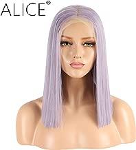 ALICE Lace Front Purple Wig, 13x6 Deep Part 14