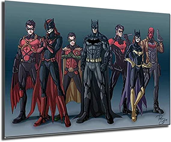 80411 Batman DC Superheroes Comic Batgirl Joker Robin Wall Print POSTER AU