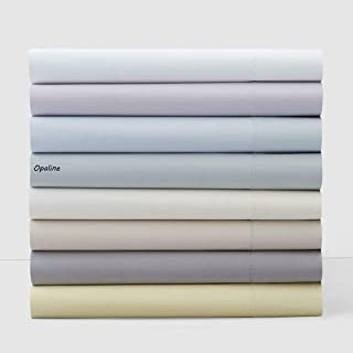 Hudson Park Collection 100% Egyptian Cotton King Fitted Sheet - Opaline