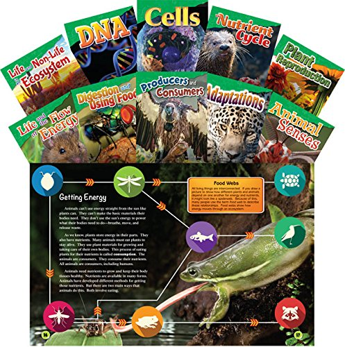 Teacher Created Materials - Science Readers: Content and Literacy: Let's Explore Life Science - 10 Book Set - Grades 4-5