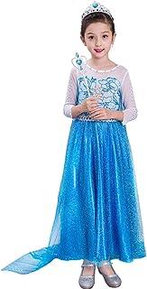 (フォーペンド)Forpend DR67 子供 アナと雪の女王 エルサ 風 ドレス コスチューム ハロウィン クリスマス 3点セット100 110 120 130 140cm