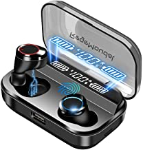 Latest Wireless Earbuds, RegeMoudal Wireless Bluetooth Earbuds with Charging Display, IPX7 Waterproof and Built-in Microphone , Bluetooth 5.0 Hi-Fi Stereo Sound with 4000mAH Charging Case