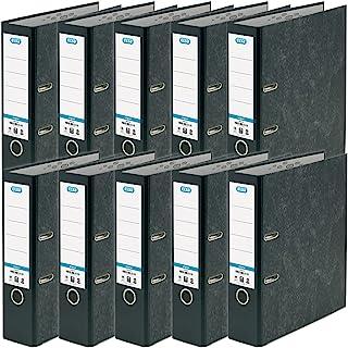 Elba, A4 Lever Arch Files, Black, 10 Folders